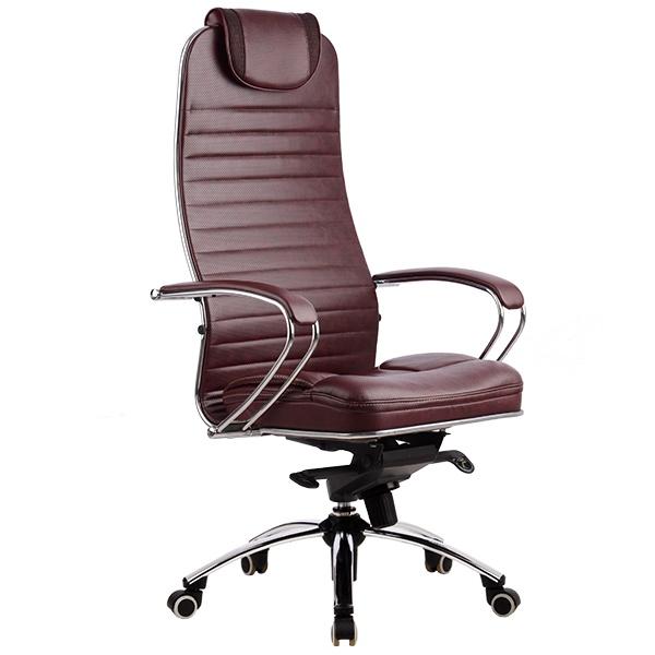 """Кресло для руководителя """"Самурай KL-1"""" (Samurai KL-1) натуральная перфорированная кожа №722"""