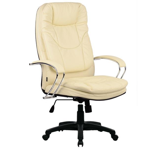 Кресло для руководителя Люкс/LUX-11 Pl | Натуральная перфорированная кожа №720