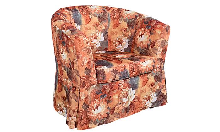 "Кресло ""Париж"" | Ткань - Bohemia / CANVAS Amber"