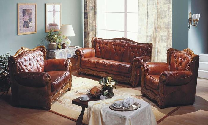 Мягкая мебель Потютьков Босс-3, комплект 3+2+1