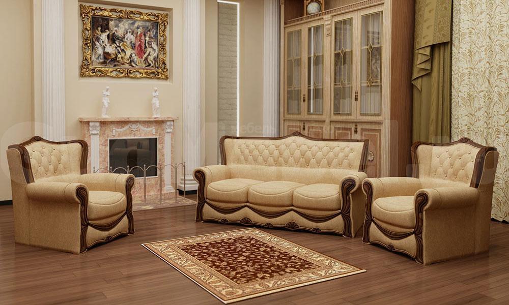 купить мягкая мебель потютьков босс 4 комплект 321 в
