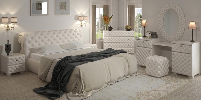 """Кожаная кровать """"Джульетта"""""""