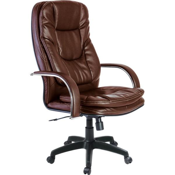 Кресло для руководителя Люкс/LUX-11 Pl | Натуральная перфорированная кожа №723