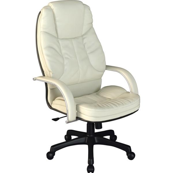 Кресло для руководителя Люкс/LUX-12 Pl | Натуральная перфорированная кожа №720