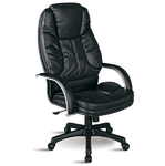 Кресло для руководителя Люкс/LUX-12 Pl | Натуральная перфорированная кожа №721
