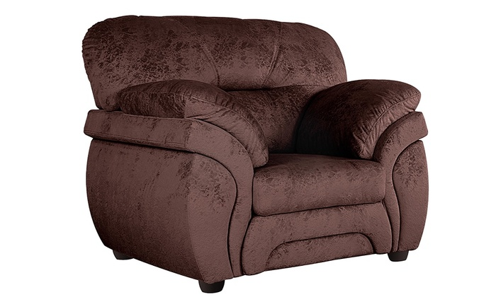 "Кресло ""Бруклин"" | Ткань - Lama cappuccino"