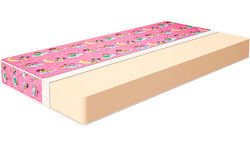 Детский матрас Конкорд Foam Kid`s 70/140 (Чехол для девочки)