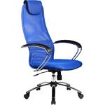 "Кресло для руководителя ""Галакси Лайт"" (Galaxy Light BK-8 Ch), ткань-сетка №23"