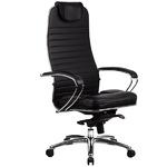 """Кресло для руководителя """"Самурай KL-1"""" (Samurai KL-1) натуральная перфорированная кожа №721"""