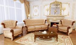 Мягкая мебель Потютьков Барокко, комплект 3+1+1
