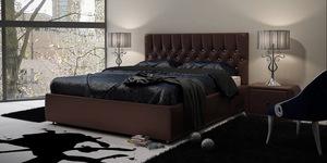 """Кожаная кровать """"Верона"""" Cardova Castano S"""