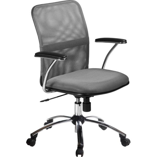 """Кресло офисное """"Форум"""" Хром   Серый №21"""