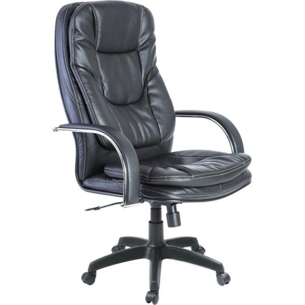 Кресло для руководителя Люкс/LUX-11 Pl | Натуральная перфорированная кожа №721