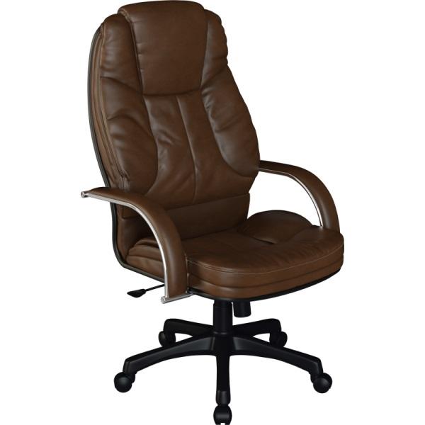 Кресло для руководителя Люкс/LUX-12 Pl | Натуральная перфорированная кожа №723