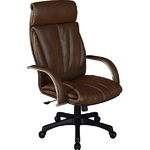 Кресло для руководителя Люкс/LUX-13 Pl | Натуральная перфорированная кожа №723