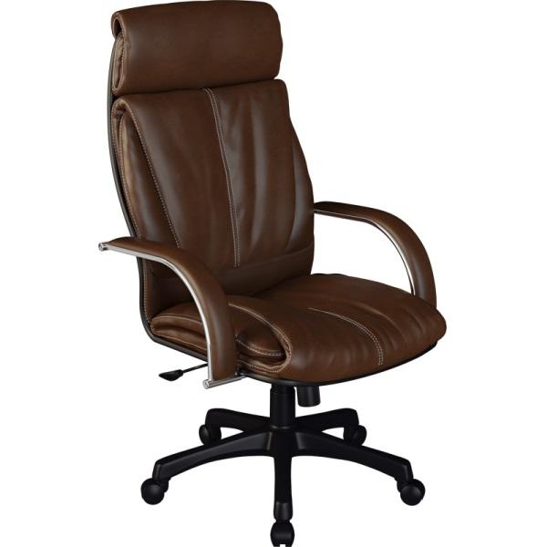 Кресло для руководителя Люкс/LUX-13 Pl   Натуральная перфорированная кожа №723